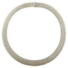Tiffany & Co. Sterling Silver Somerset Flexible Necklace