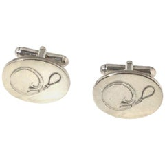 Tiffany & Co Sterling Silver Stethoscope Cufflinks