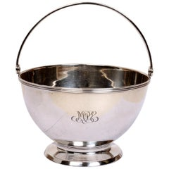 Tiffany & Co. Sterling Silver Swing Handle Sugar Bowl