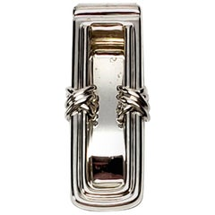 Tiffany & Co. Sterling Silver X Money Clip