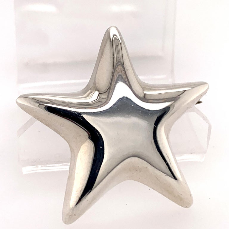 Tiffany & Co. Sterling Star Pins For Sale 1