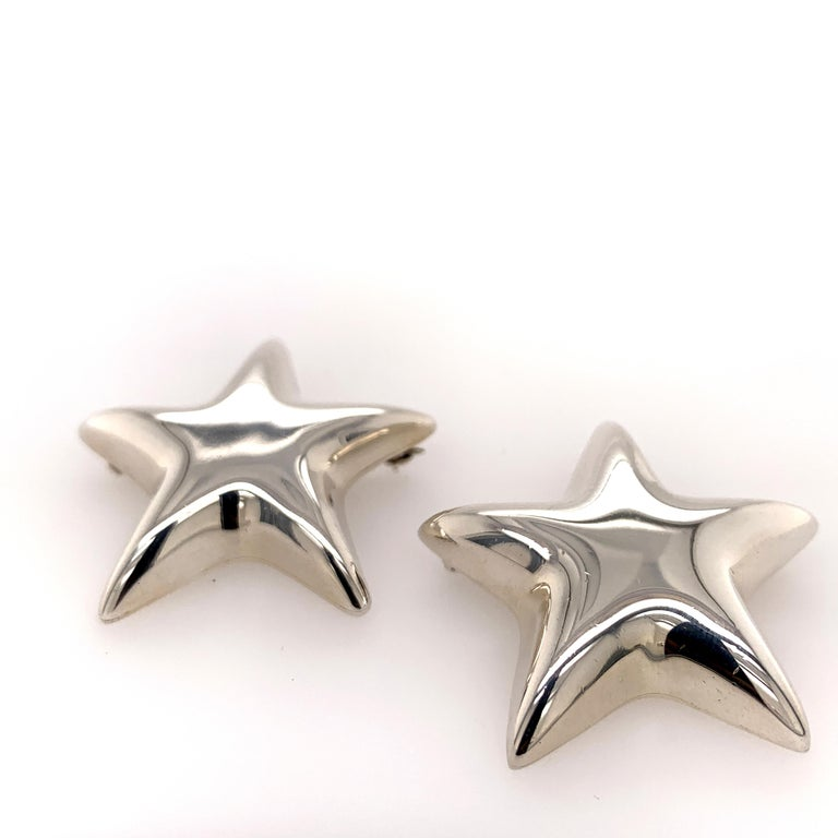 Tiffany & Co. Sterling Star Pins For Sale 3