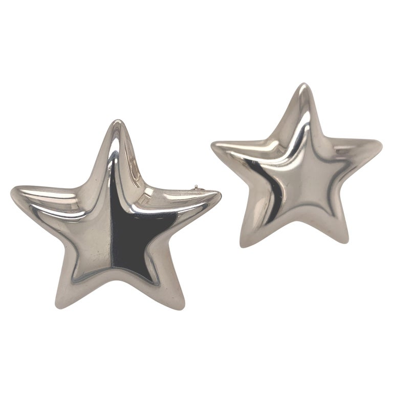 Tiffany & Co. Sterling Star Pins For Sale