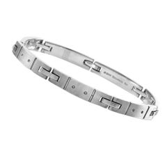 Tiffany & Co. Streamerica 18 Karat White Gold Men's Bracelet