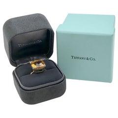 Tiffany & Co. Sugar Stacks Large Yellow Gold and Citrine Ring