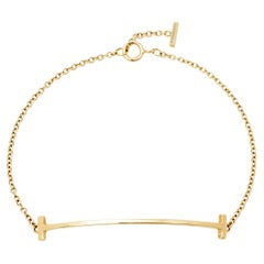 Tiffany & Co. T Smile 18K Yellow Gold Bracelet