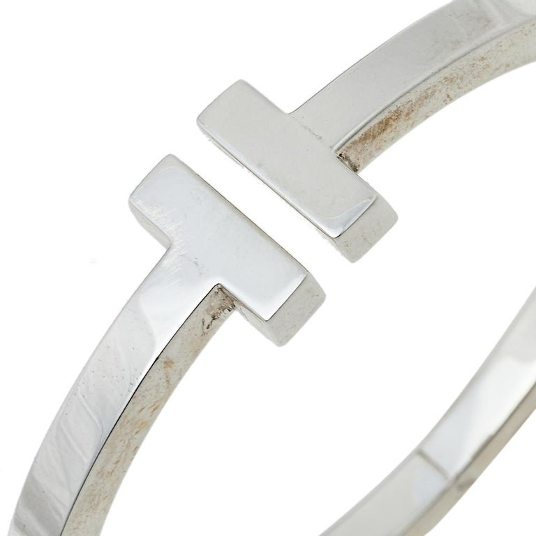 Tiffany & Co. T Square Sterling Silver Bracelet 1