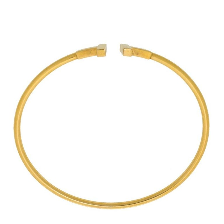 Contemporary Tiffany & Co. T Wire 18K Yellow Gold Bracelet