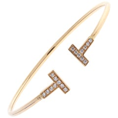 Tiffany & Co. T-Wire Diamond Bracelet