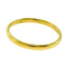 Tiffany & Co. Tiffany Classic in 18 Karat Yellow Gold Wedding Band Ring
