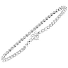 Tiffany & Co. Tiffany Platinum 3.00 Carat Diamond Tennis Bracelet