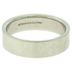 Tiffany & Co. Tiffany Platinum Flat Wedding Band Ring