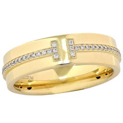 Tiffany & Co. Tiffany T Two-Diamond Band