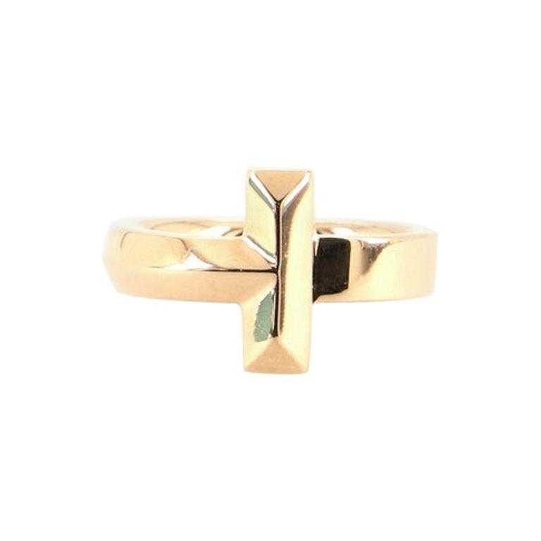 Tiffany & Co. Tiffany T1 Ring 18k Yellow Gold Wide