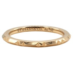 Tiffany & Co. True Collection 18 Karat Rose Gold Thin Band Ring