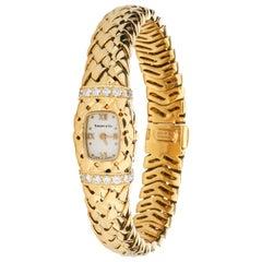 Tiffany & Co. Vannerie Vannerie Women's Watch in 18 Karat Yellow Gold