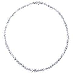 Tiffany & Co. Victoria 17.77 Carat Diamond Riviere Necklace