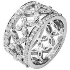 Tiffany & Co. Victoria Band Ring in Platinum