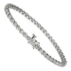Tiffany & Co. Victoria Bracelet in Platinum 4.49 CTW
