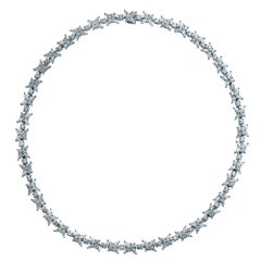 Tiffany & Co. Victoria Diamond Cluster Necklace