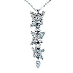 Tiffany & Co. Victoria Diamond Drop Necklace