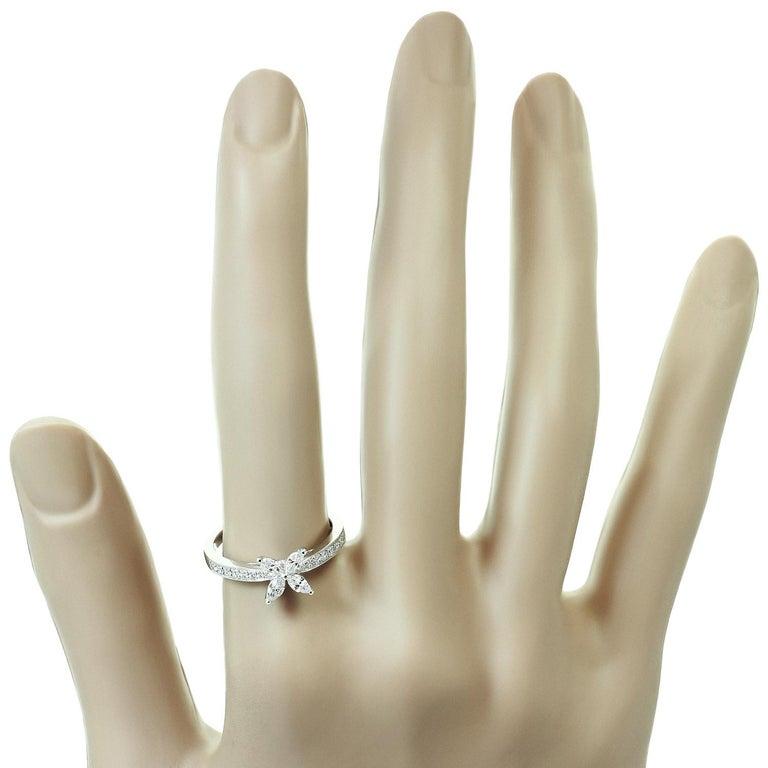 Women's Tiffany & Co. Victoria Diamond Platinum Ring For Sale