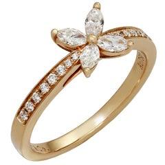 Tiffany & Co. Victoria Diamond Rose Gold Ring