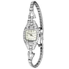 Tiffany & Co. Vintage Diamond Platinum Watch