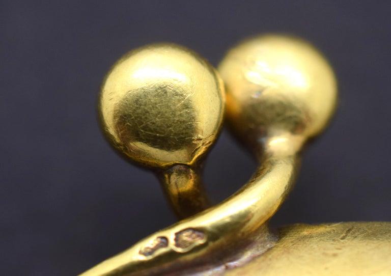 Women's Tiffany & Co. Vintage Mesh Purse 18 Karat Yellow Gold For Sale