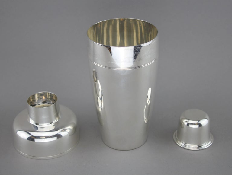 f5a4f1204f1 Mid-20th Century Tiffany   Co. Vintage Sterling Silver Cocktail Shaker