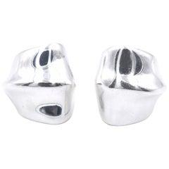 Tiffany & Co. Vintage Sterling Silver Earrings