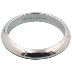 Tiffany & Co. Wedding Band Ring in Platinum