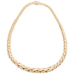 Tiffany & Co. Woven Tapered Necklace