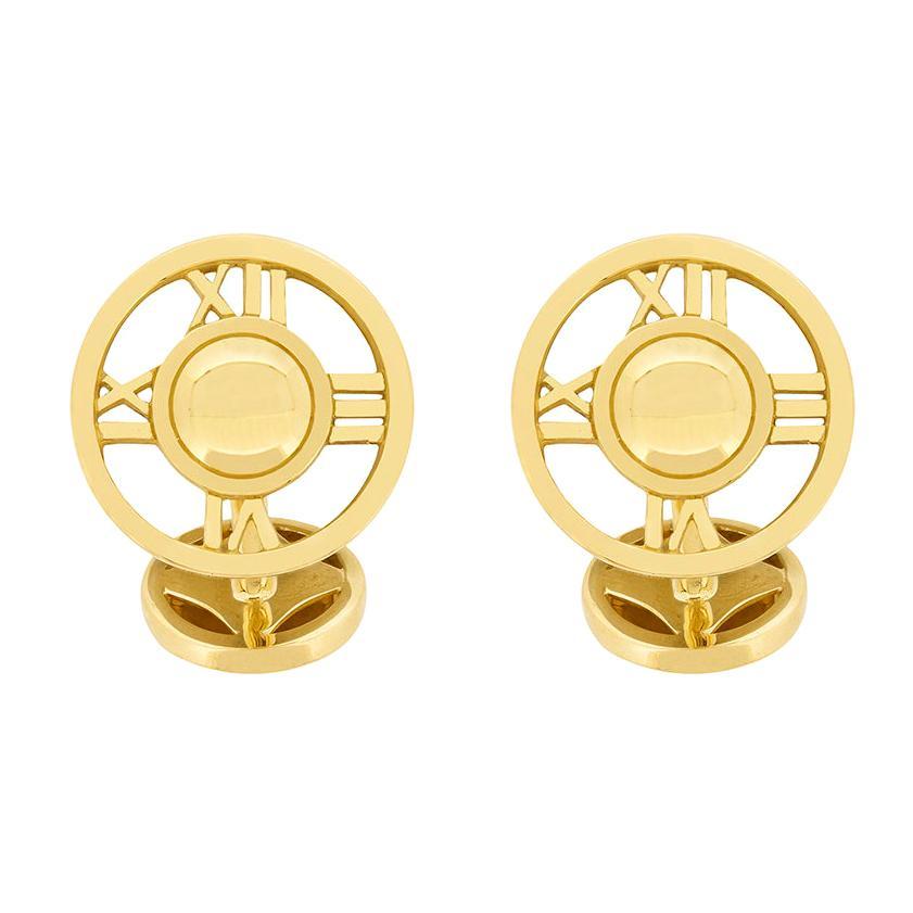 16436e333d13d Tiffany & Co. Atlas Gold Cufflinks