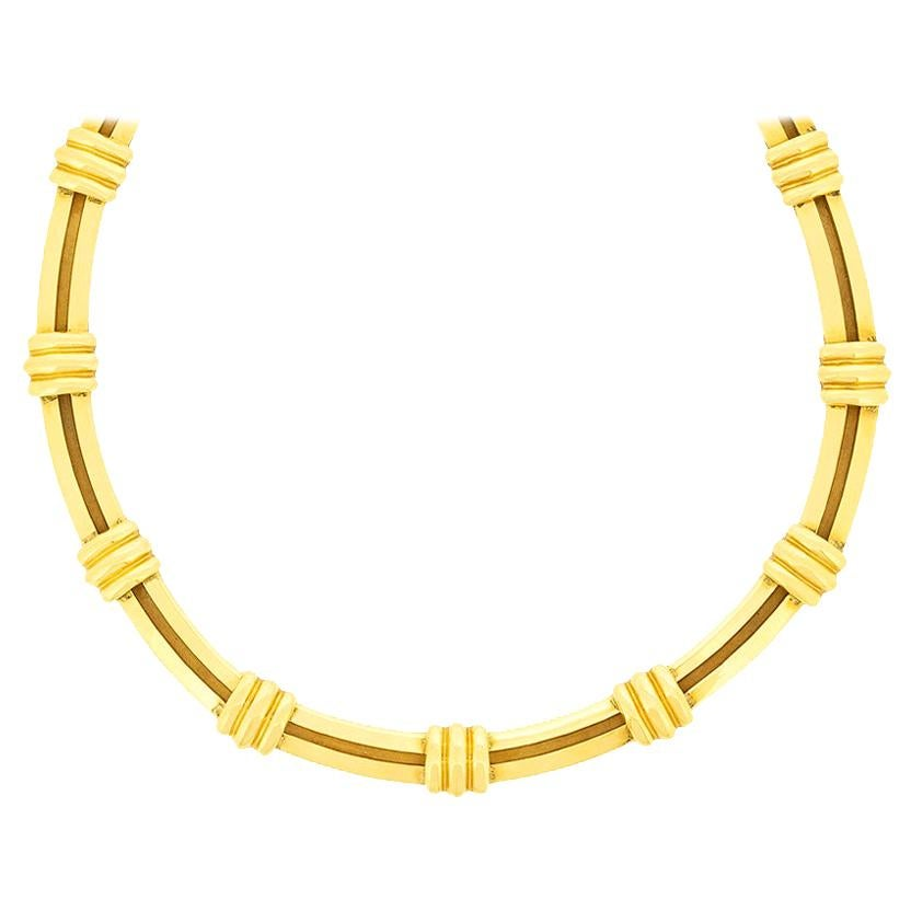 Tiffany & Co. Yellow Gold Atlas Necklace, circa 1990s