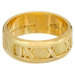 Tiffany & Co. Yellow Gold Atlas Wedding Band