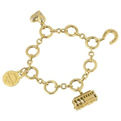 Tiffany & Co. Yellow Gold Charm Bracelet
