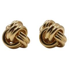 Tiffany & Co. Yellow Gold Cuff Links