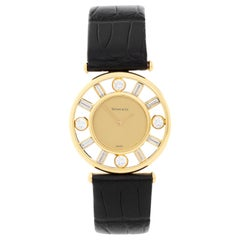 Tiffany & Co. Yellow Gold Diamond Classique Quartz Wristwatch