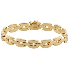Tiffany & Co. Yellow Gold Hinged Link Bracelet