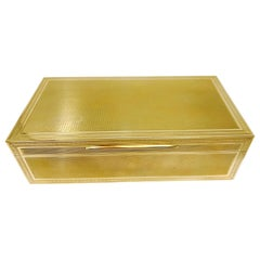 Tiffany & Co. Yellow Gold Jewelry Box