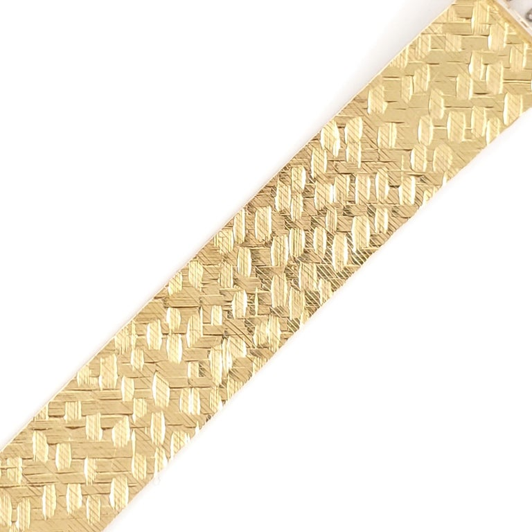 Women's Tiffany & Co. Yellow Gold Ladies Watch For Sale