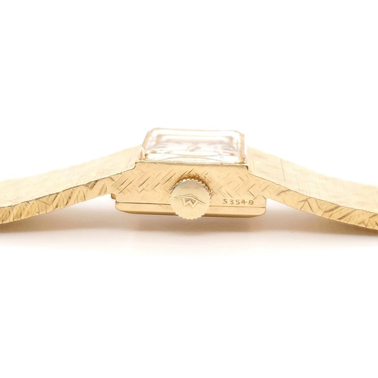 Tiffany & Co. Yellow Gold Ladies Watch For Sale 1