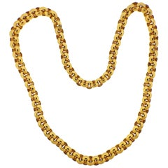Tiffany & Co. Yellow Gold Link Necklace