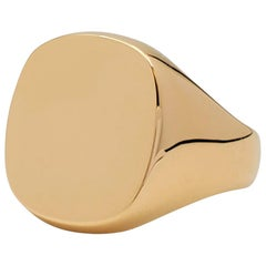 Tiffany & Co. Yellow Gold Men's Signet Ring