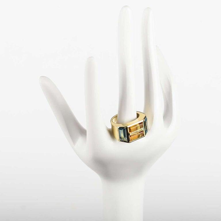 Women's Tiffany & Co. Yellow Gold Paloma Picasso Studio Ring