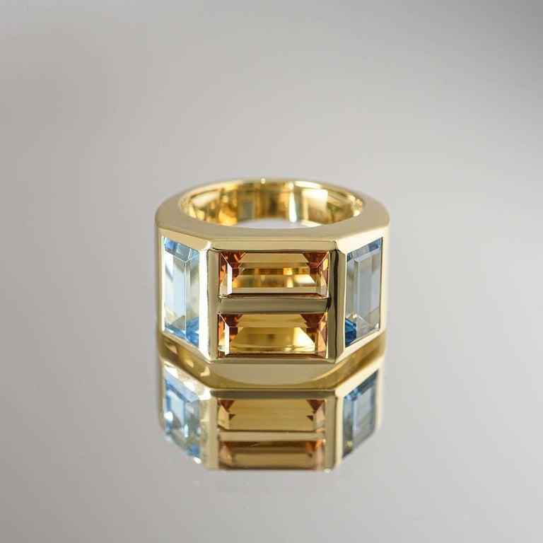 Tiffany & Co. Yellow Gold Paloma Picasso Studio Ring 2