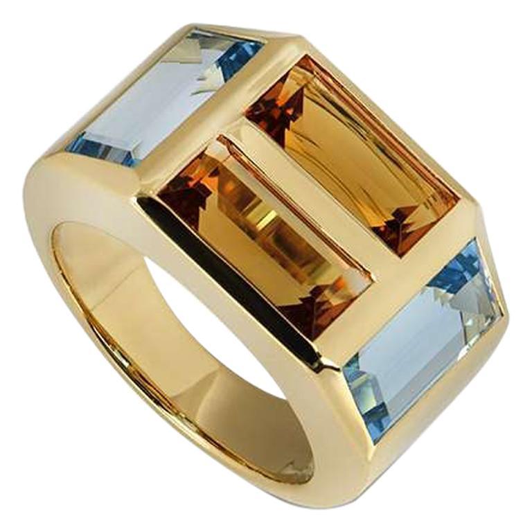 Tiffany & Co. Yellow Gold Paloma Picasso Studio Ring