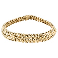Tiffany & Co. Yellow Gold Woven Necklace