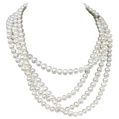 Tiffany & Co. Ziegfeld Collection Freshwater Pearl Necklace